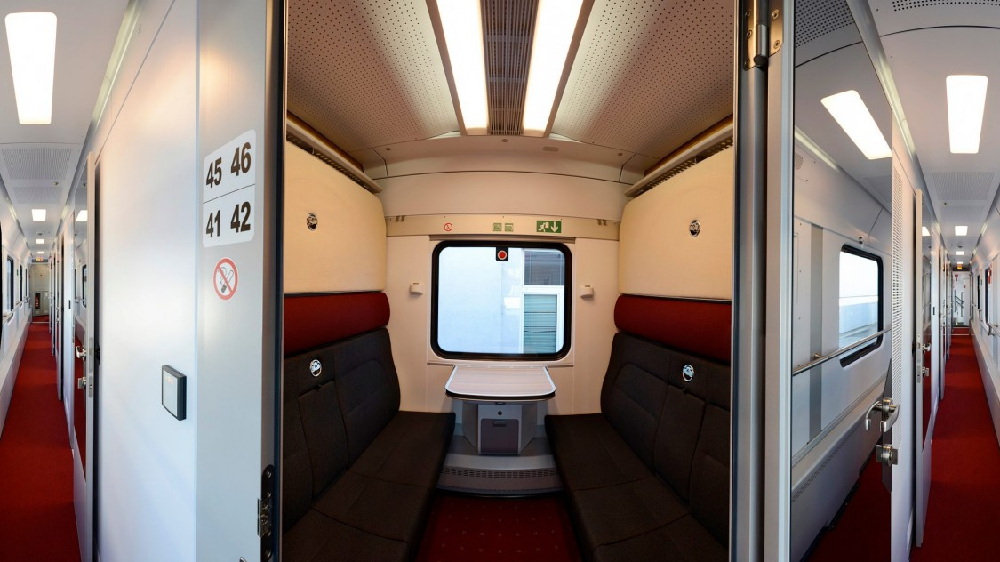 Viaggio Classic – Russian Railways (RŽD), sleeping car