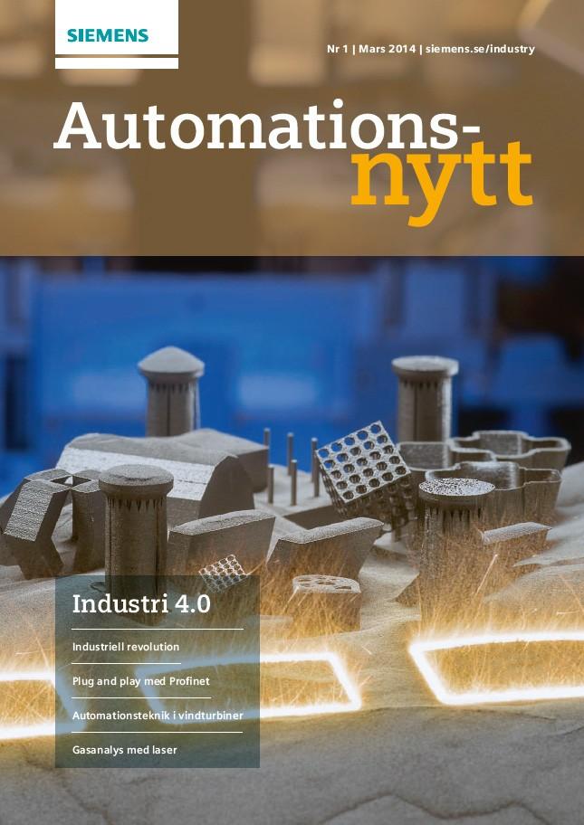 Automationsnytt Nr 1 | Mars 2014