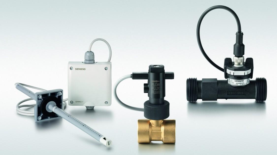 Sensores de flujo Siemens