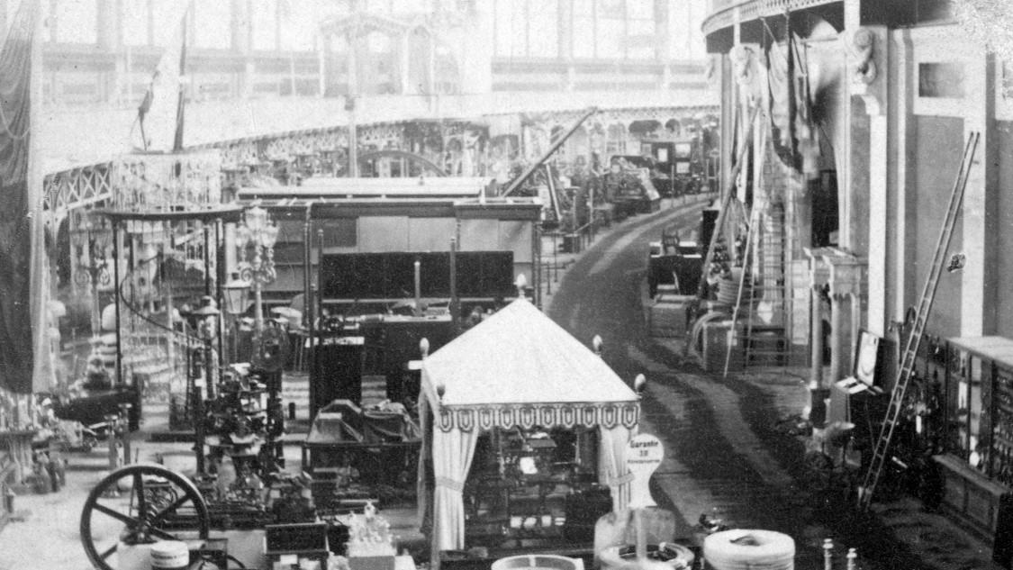 Präsentation Preußens auf der Expo Paris, 1867