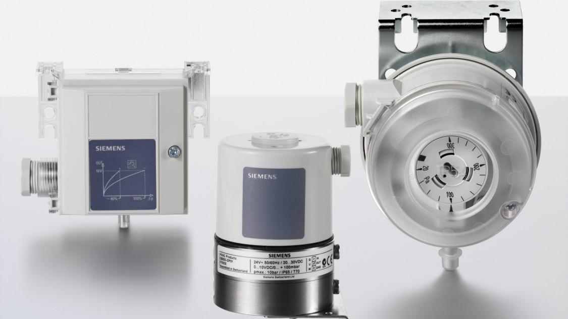 Siemens pressue sensors
