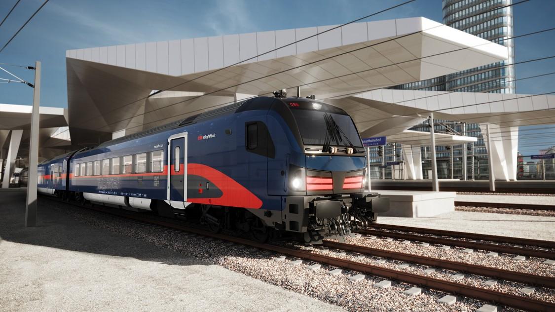 Der Siemens Mobility Viaggio Next Level - der neue ÖBB Nightjet - ist die Weiterentwicklung des erfolgreichen Viaggio Comfort Modells.