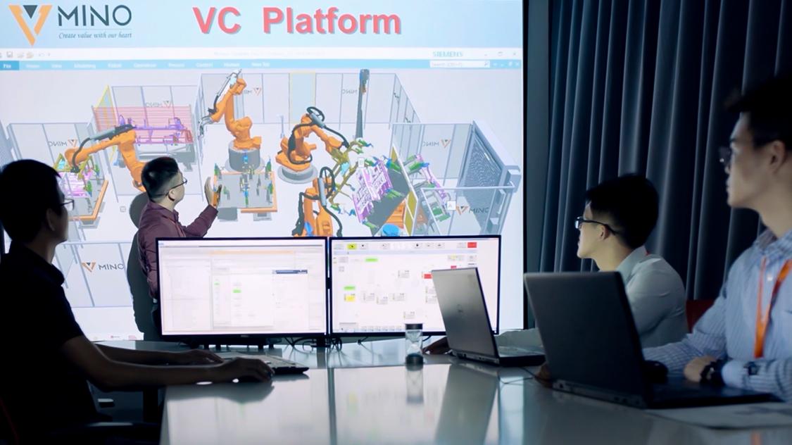 西门子传统企业数字化转型为全数字化企业:实施西门子的数字化双胞胎、仿真、虚拟调试和自动化解决方案。