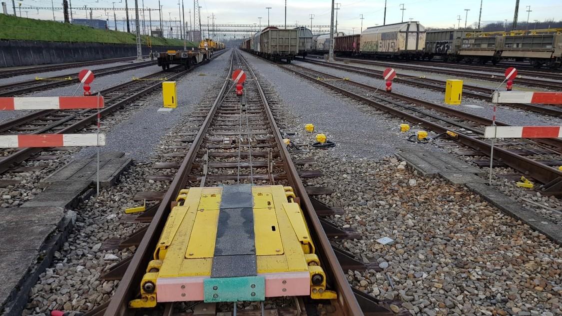 Förderanlage Rangierbahnhof Basel II, Bild Siemens Mobility AG