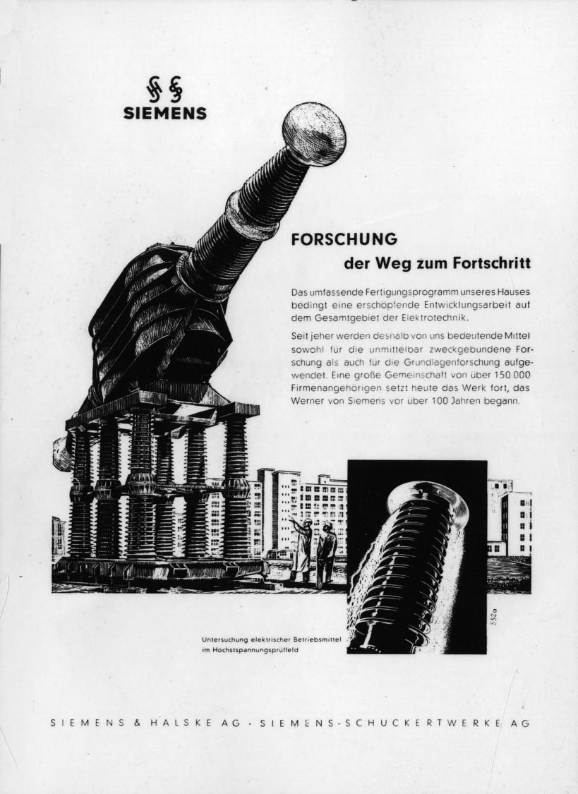 Image advertisement, 1953