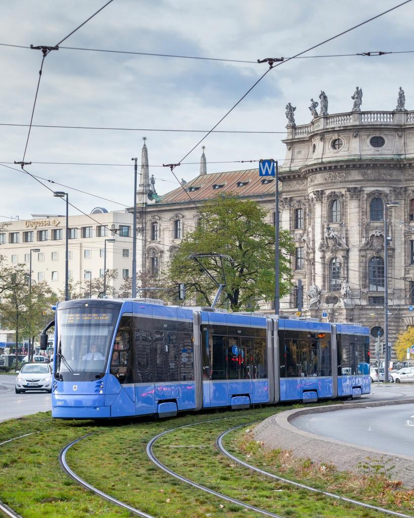 All trams in service in Munich