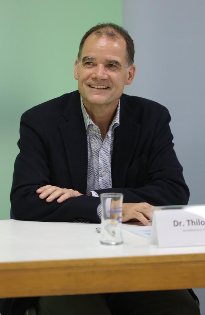 Dr. Thilo Rießner, Geschäftsführer der Rießner-Gase GmbH
