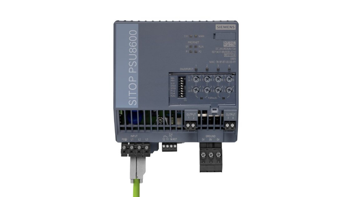 PSU8600, 3-phase 24 V/40 A, 6EP3437-8SB00-2AY0