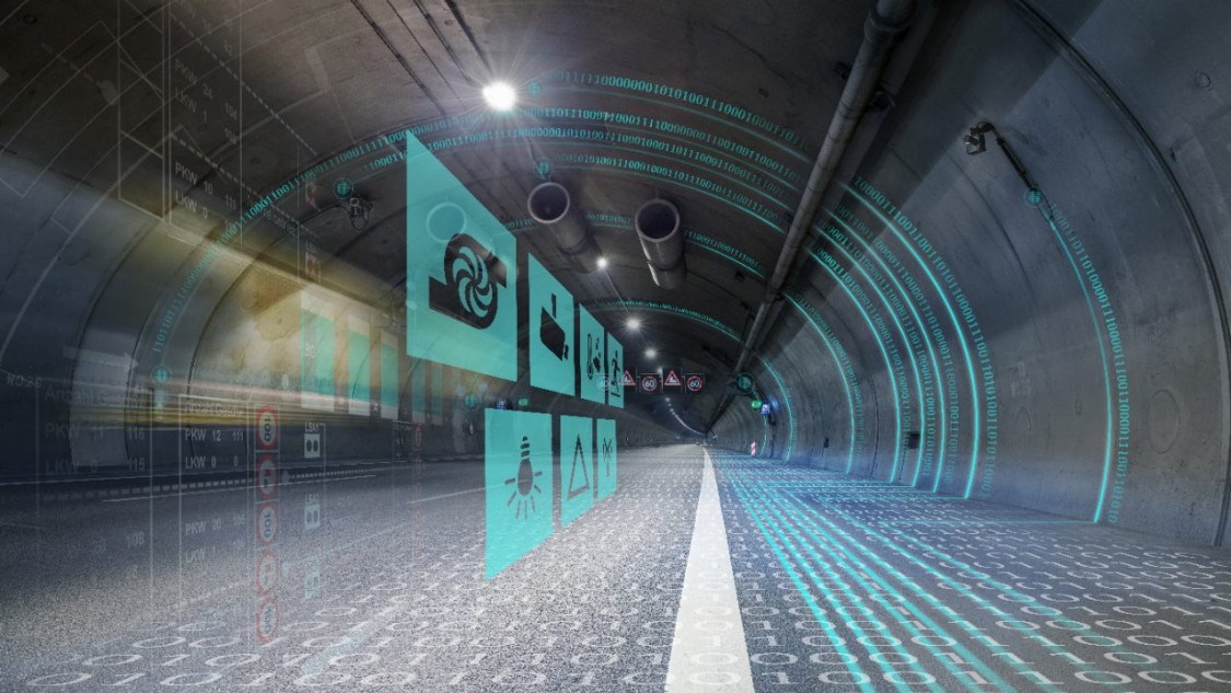 Key visual for tunnel automation