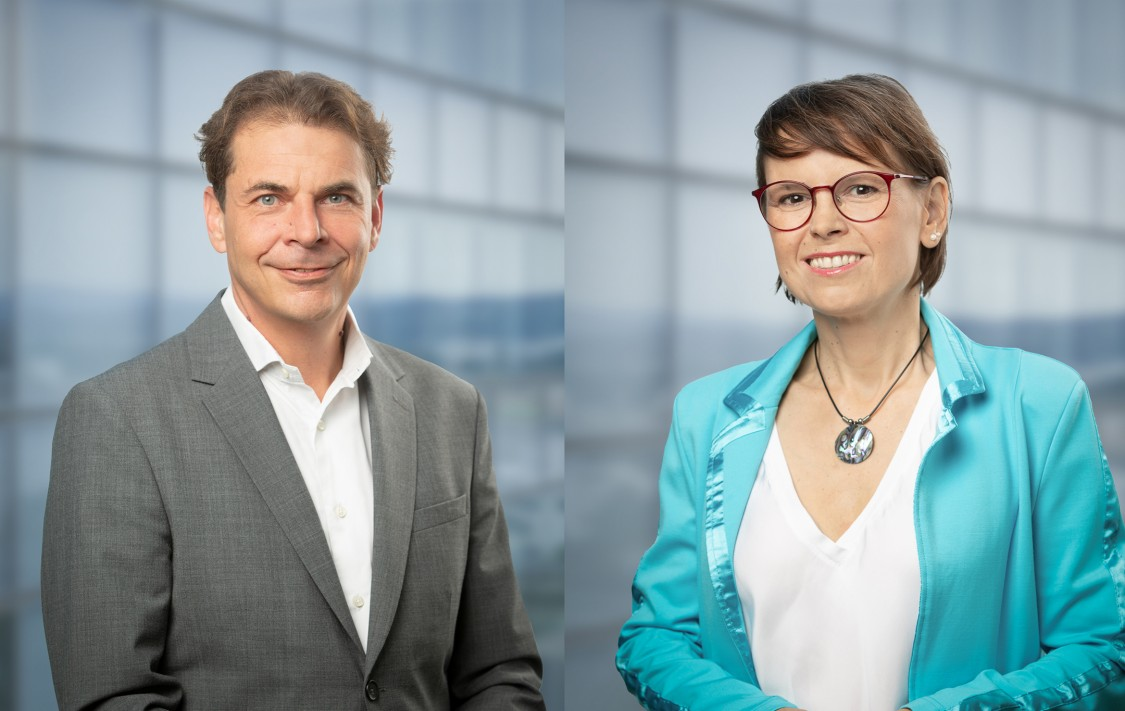 Martin Ramharter,  Julita Panek, Siemens Pharma Kontakt