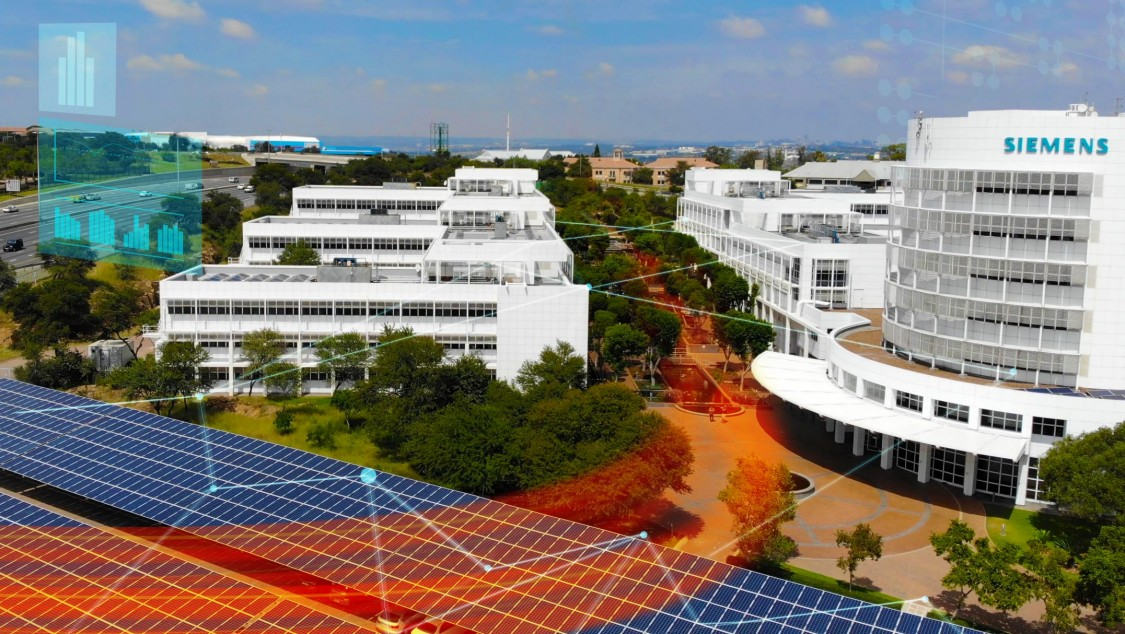 Sustainable real estate management at Siemens in Midrand