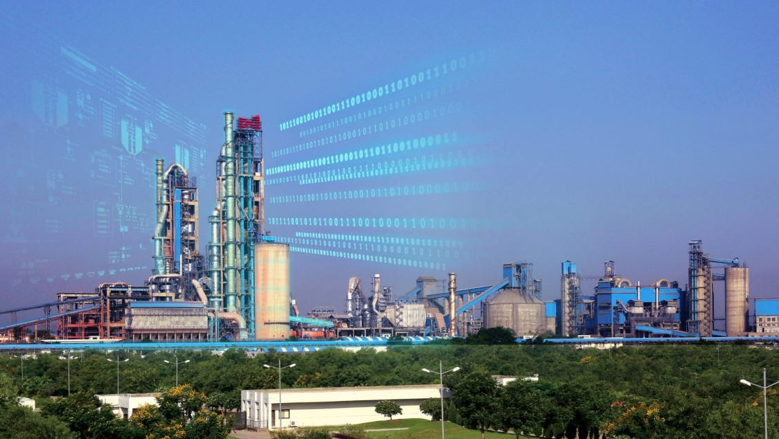 cement; digital plant