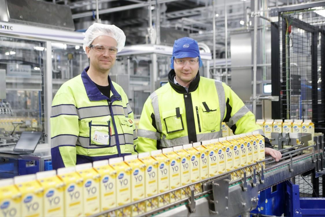 Tommi Komu ja Timo Leppänen