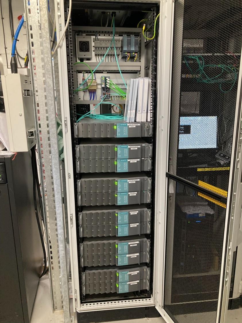 Siemens PCS7 Server Cabinet
