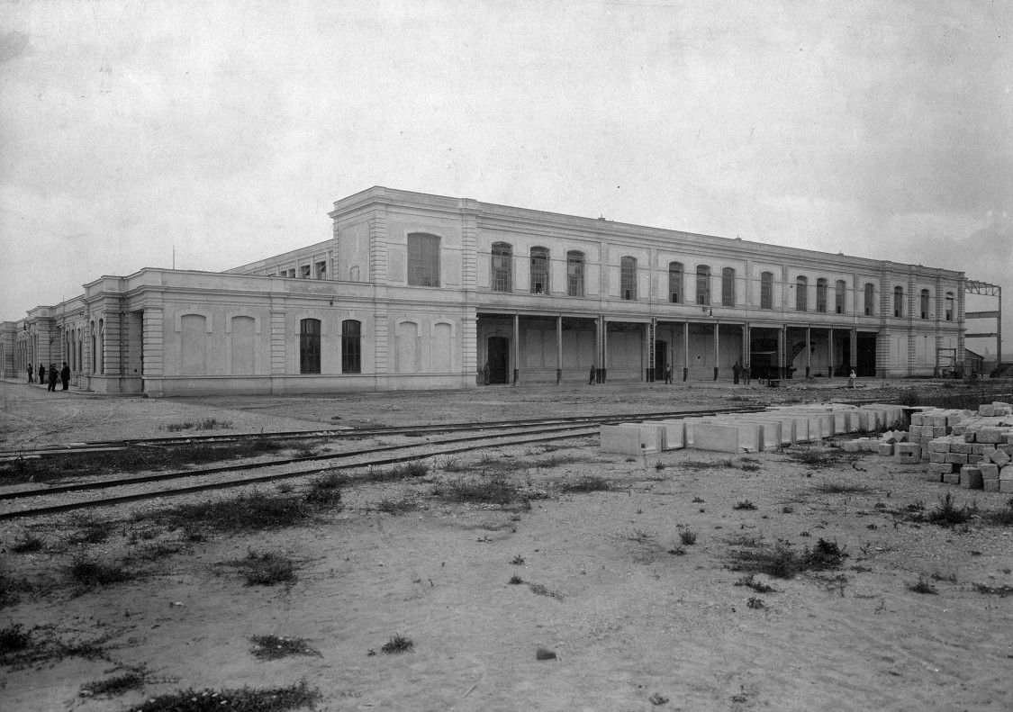 Expansion continues – construction of the Leopoldau mechanical engineering factory, 1900