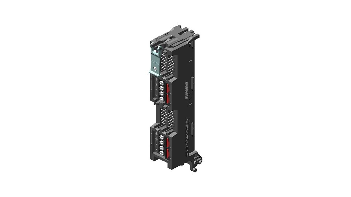 Frontsteckmodul, vollmodularen Anschluss SIMATIC TOP connect