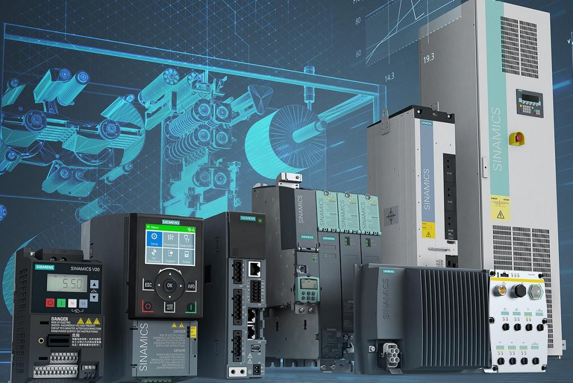 Digitalização aplicada aos drives Siemens da linha SINAMICS