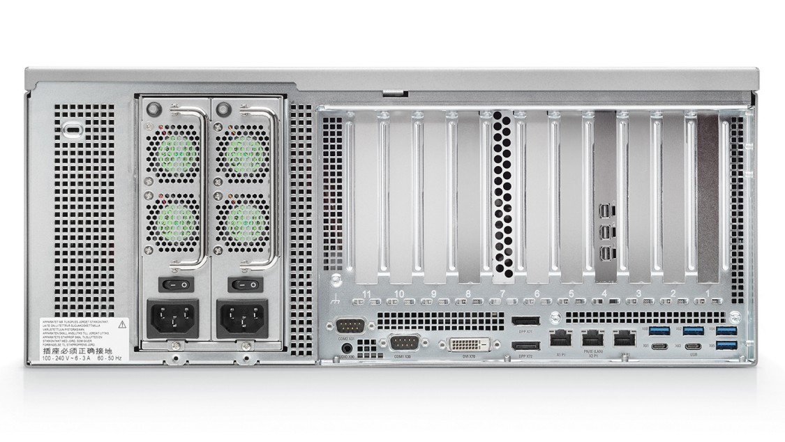 Серверы SIMATIC – слоты