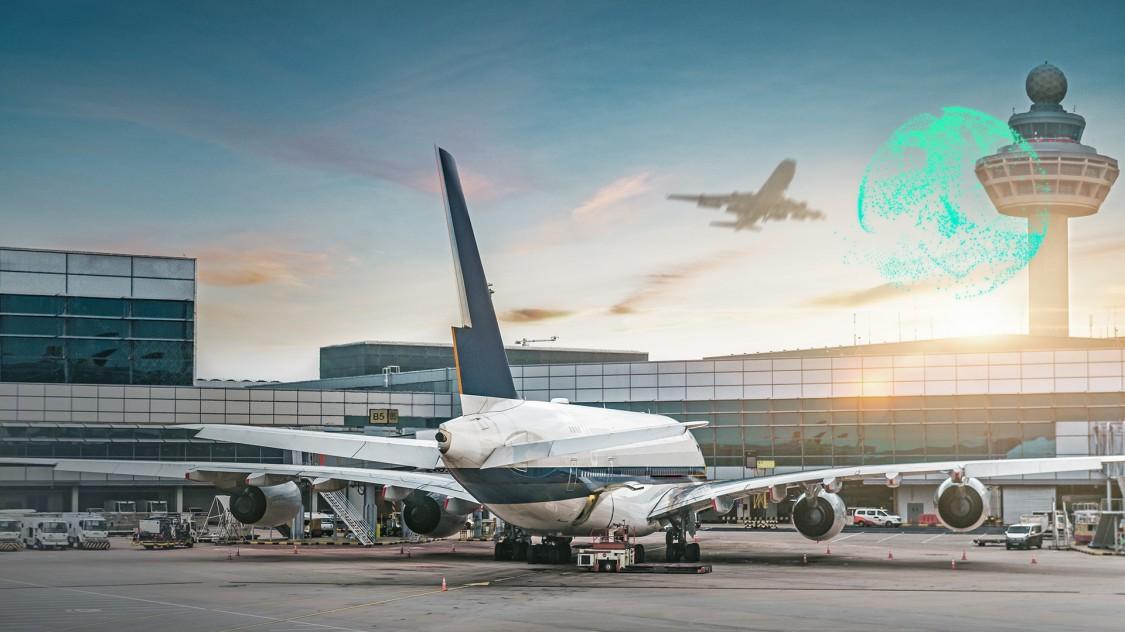 Drahtlose Kommunikation mit RUGGEDCOM WIN für AeroMACS zum Informationsaustausch auf Flughäfen zwischen Tower und Flugzeugen