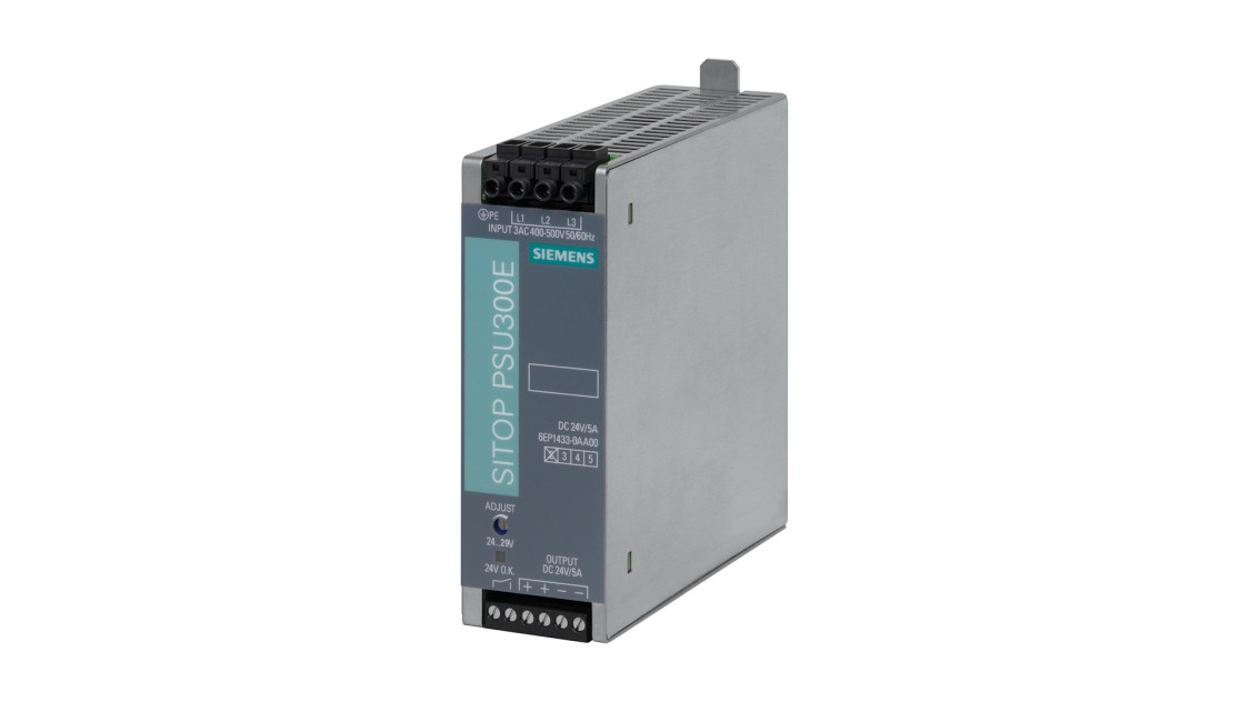 Product image SITOP PSU300E, 3-phase, DC 24 V/5 A