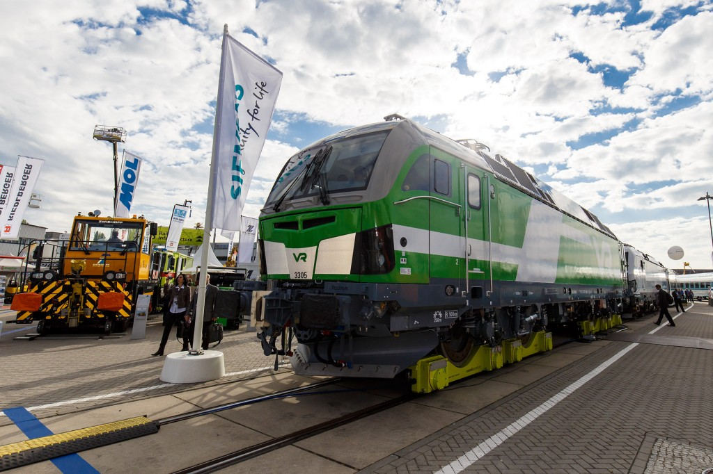 Siemens at Innotrans 2016: Vectron for Finland