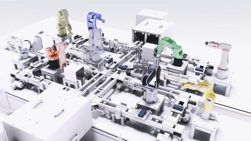 SIMATIC Robot Integrator Model Screen