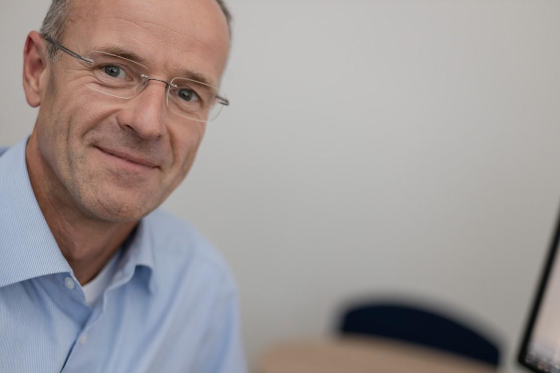 Portrait von Michael Stahuber, Energiemanager, Clariant