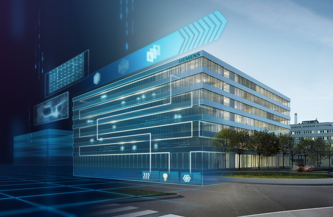 Services from Siemens take advantage of the digitalization of the construction industry. In this way, buildings that continuously interact, learn, and adapt to new requirements are created on a smart campus.
