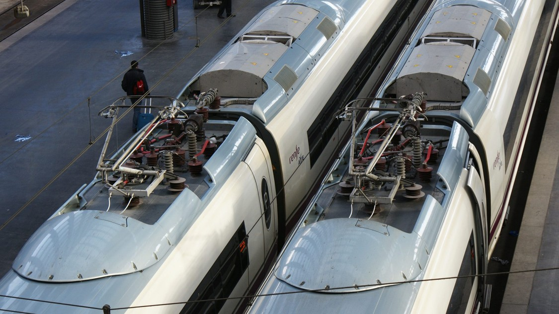 Trains intercity et TGV
