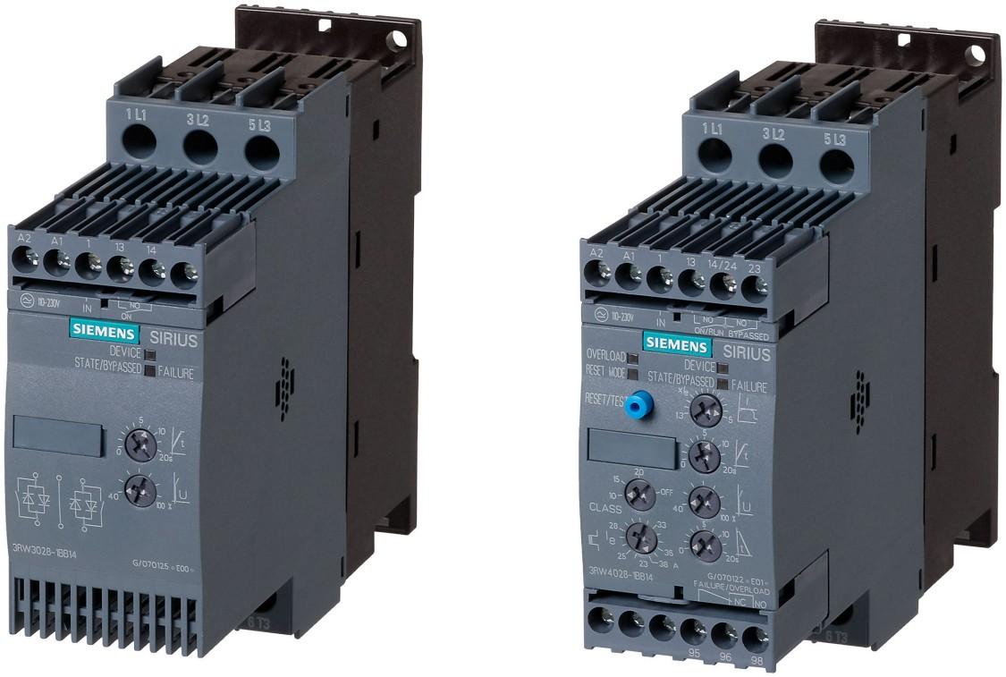 Softstarty 3RW30 i 3RW40