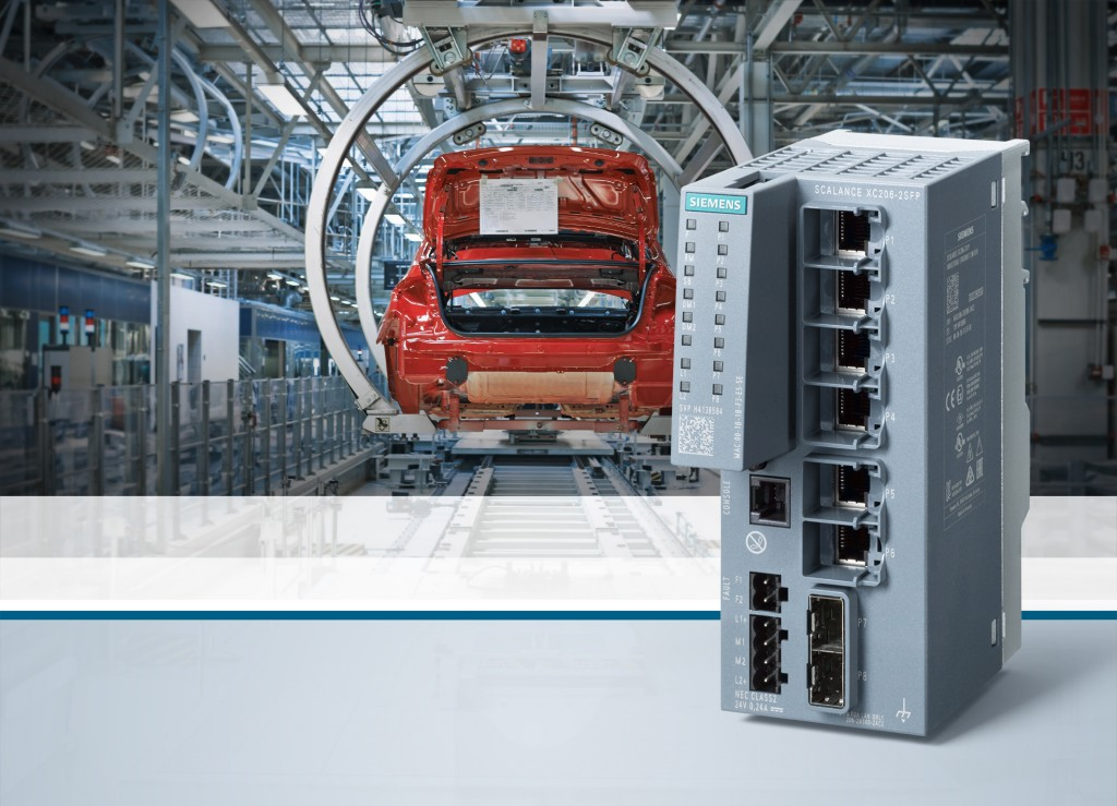 Industrial Ethernet switches for reliable communication in automation