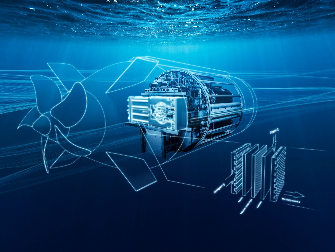 How do You Power the Navy's Next Generation of Unmanned Undersea Vehicles (UUVs)? The Answer is in the Water