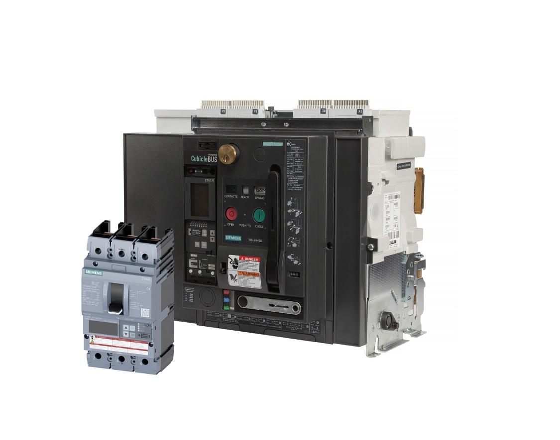 Picture of  Siemens 3VA and WL breaker