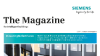 Cover Siemens customer magazine