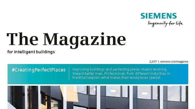 The Siemens Customer Magazine