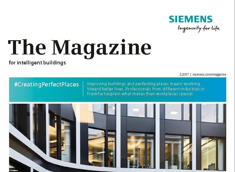 Siemens customer magazine