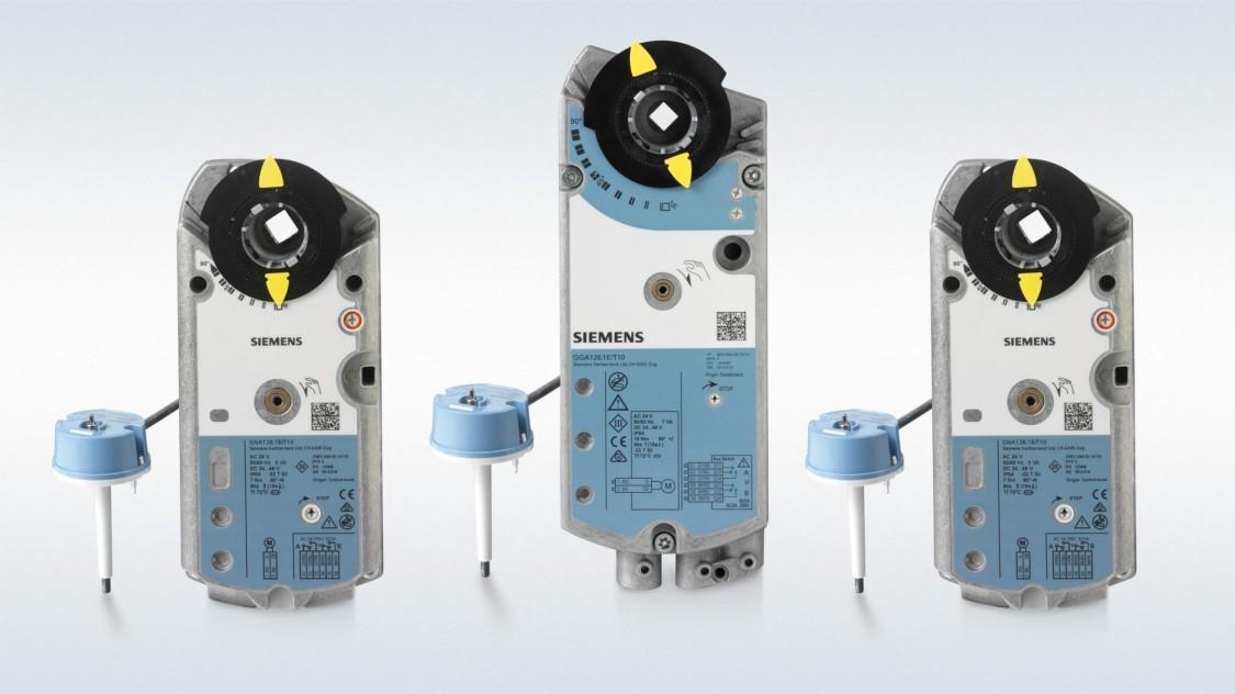 Приводи та клапани для димовидалення та протипожежних заслінок