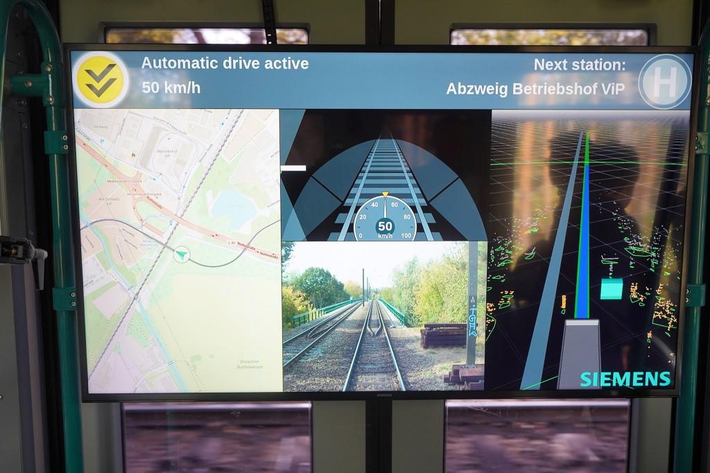Siemens Mobility präsentiert erste autonom fahrende Straßenbahn der Welt