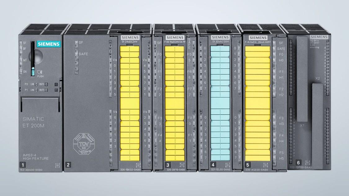 SIMATIC ET 200M - станція вводу-виводу для високої щільності каналів, сумісна з S7-300