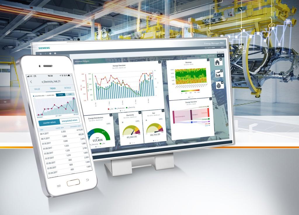 Erweitertes Energiemanagement und App für die mobile Erfassung von Verbrauchsdaten