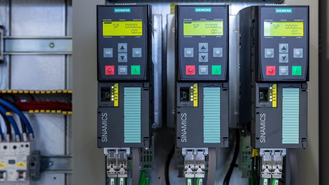 Simatic S7-1500F und Sinamics-Frequenzumrichter