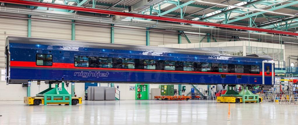 ÖBB und Siemens Mobility präsentieren das Außendesign des neuen Nightjets