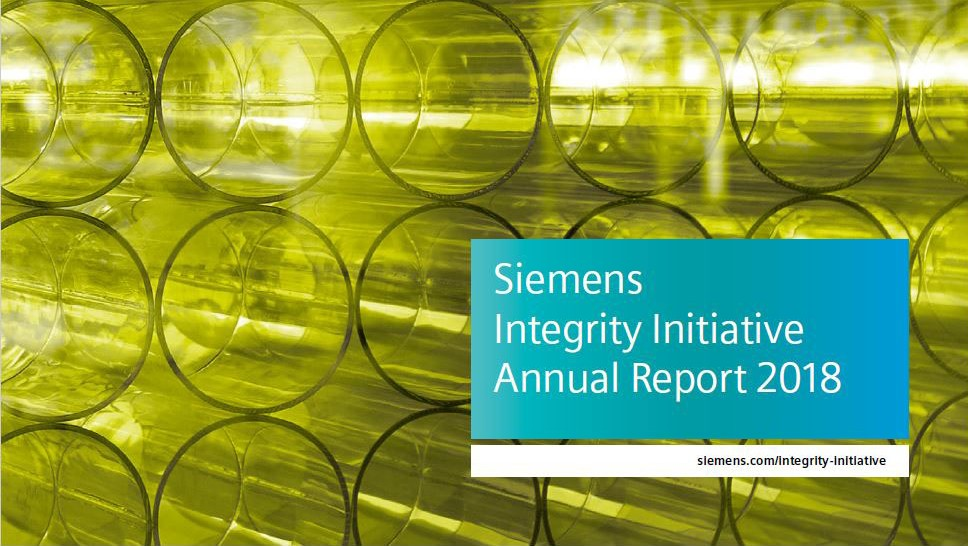Siemens Integrity Initiative – Annual Report 2017
