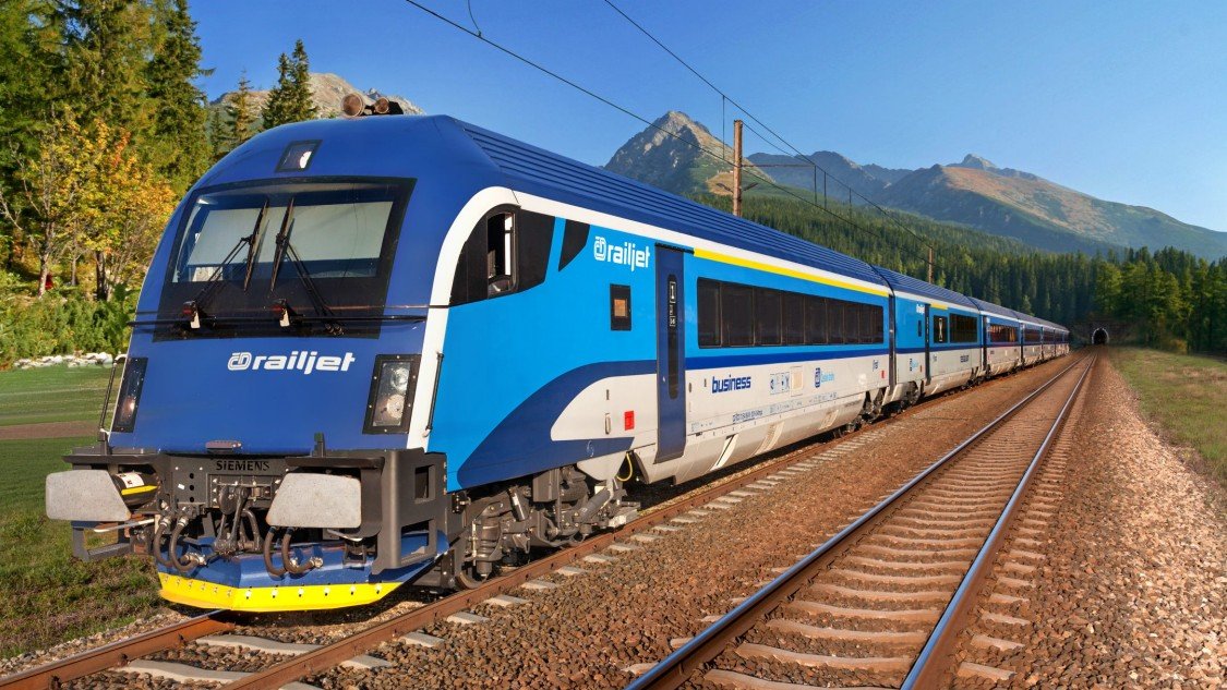 Viaggio Comfort – Czech Railways (ČD), Railjet intercity train