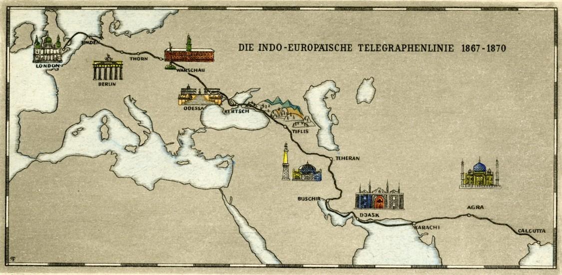 Indo-European Telegraph Line