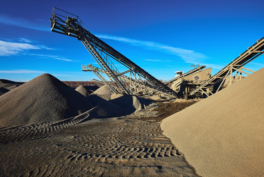 USA - Sand mine for hydraulic fracking