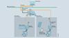 Příklad konfigurace: Načítání dat z připojených RTU v řídicím centru pomocí TeleControl Bacis