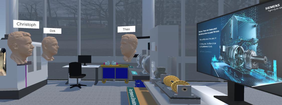 Virtual team discussion