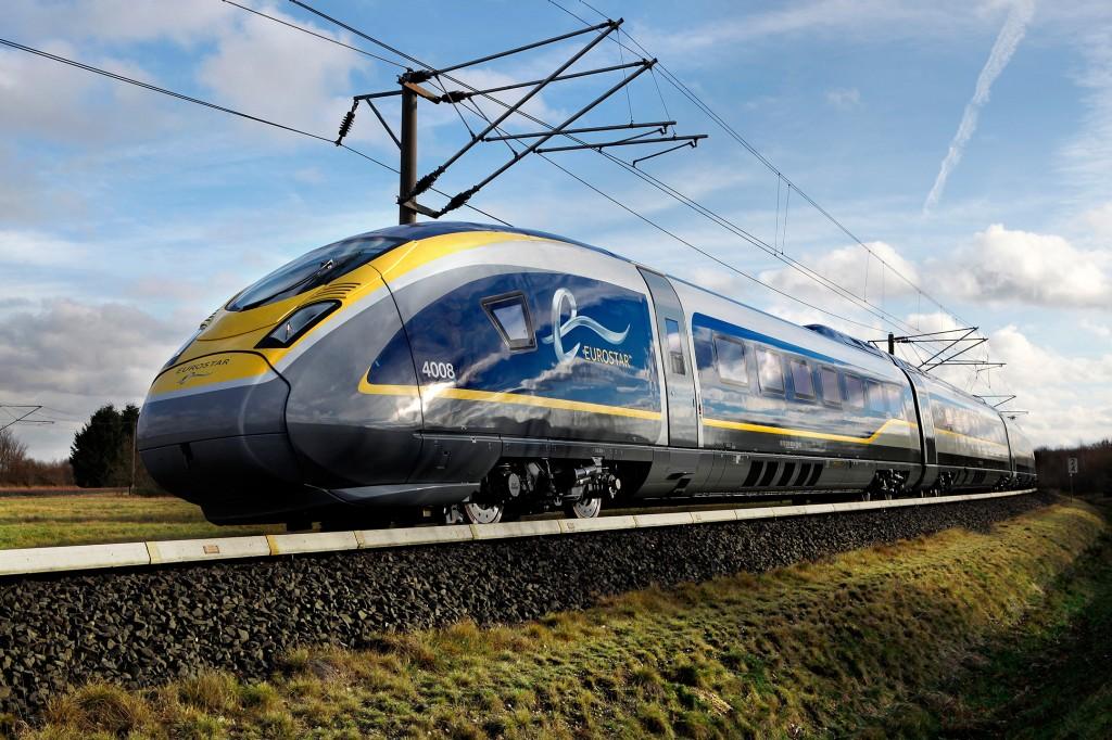 Velaro Eurostar e320 high-speed trains