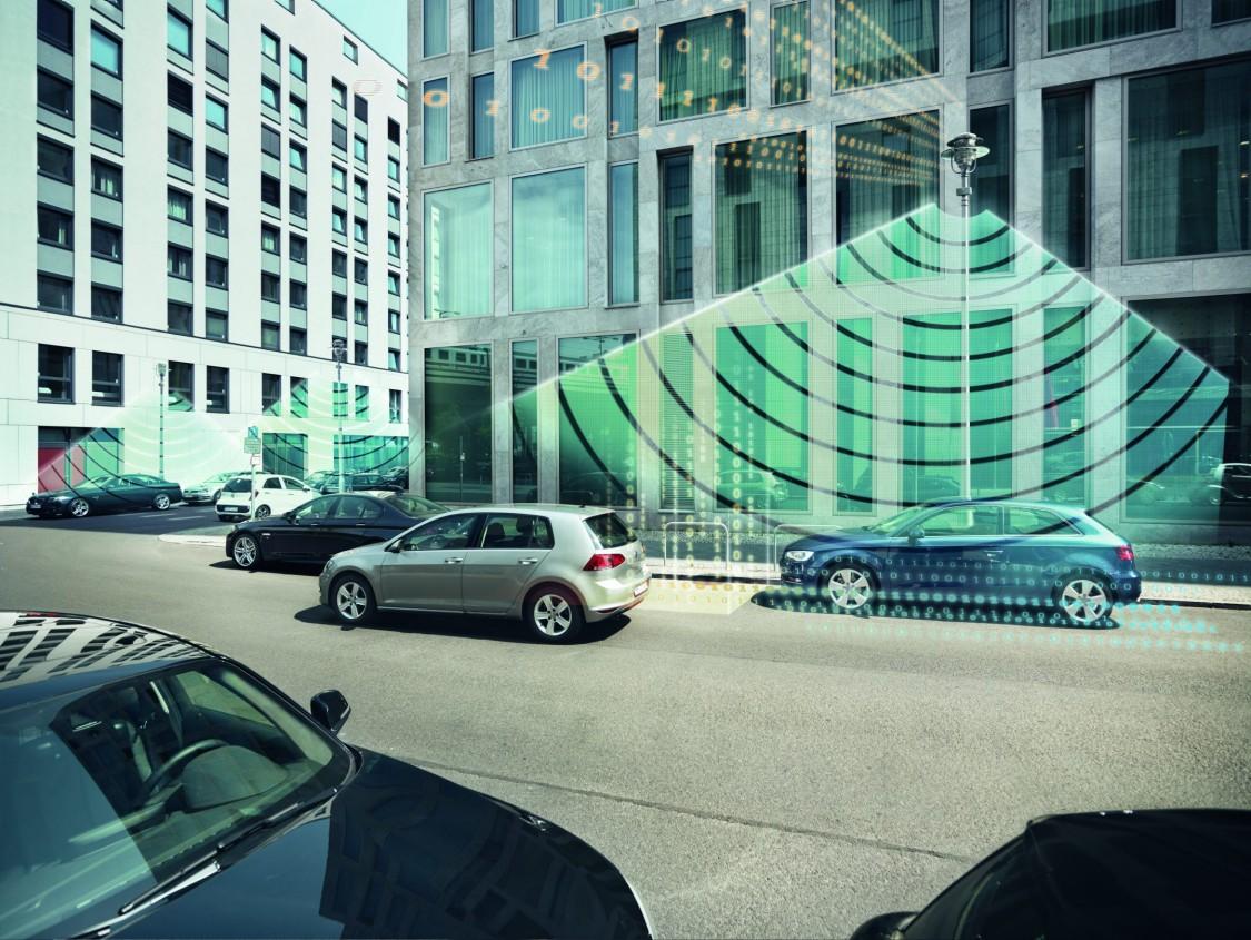 Sensor-controlled Smart Parking